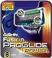 Gillette Fusion ProGlide Power Razor Blades - Pack of 8