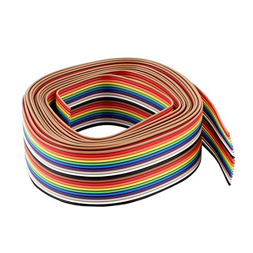 uxcell, ribbon cable, flat ribbon cable