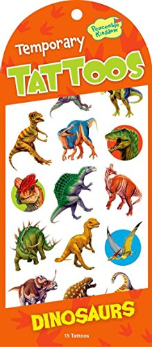 Peaceable Kingdom Dinosaurs Temporary Tattoos