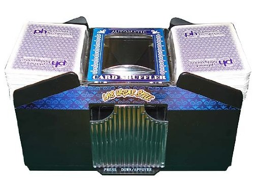 Learn More About NEW Automatic Playing Card Shuffler 1- 4 Decks