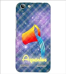 PrintDhaba Zodiac Aquarius D-5769 Back Case Cover for LENOVO VIBE K5 (Multi-Coloured)