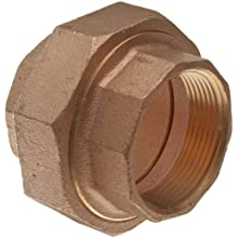 Lead Free Brass Pipe Fitting, Union, Class 125, NPT Female