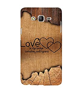 Love Quote 3D Hard Polycarbonate Designer Back Case Cover for Samsung Galaxy On5 :: Samsung Galaxy On 5 G550FY