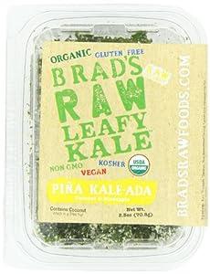 Brad's Raw Leafy Kale Pina Kale Ada, 2.5 Ounce