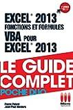 POCHE DUO£FONCTIONS FORMULES VBA EXCEL 2013
