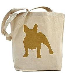 CafePress French Bulldog Tote Bag - Standard Multi-color by CafePress