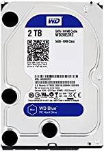 Comprar WD Blue - Disco duro para ordenadores de sobremesa de 2 TB (5400 rpm, SATA a 6 Gb/s, 64 MB de caché, 3,5