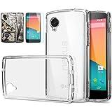 Spigen SGP10664 Ultra Hybrid Crystal clear Displayschutzfolie f�r Google Nexus 5