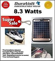 DuraVolt Marine Solar Panel Battery Char...