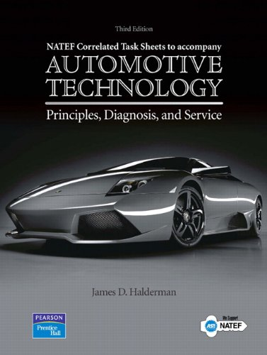 NATEF Correlated Job Sheets for Automotive Technology:...