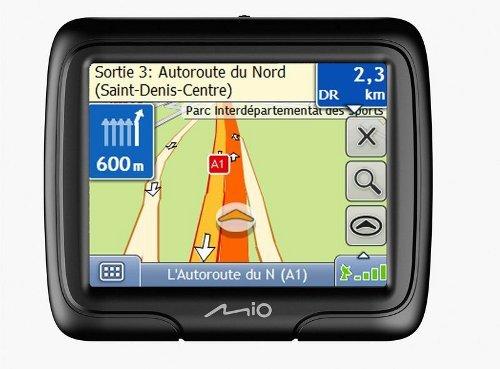 Mio Moov Spirit V505 TV Navigationsgerät (4,7