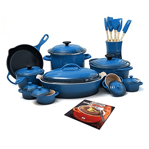 Le Creuset 24-Piece Cookware Set