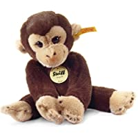 Steiff Little Friend Koko Monkey Plush, Dark Brown by Steiff
