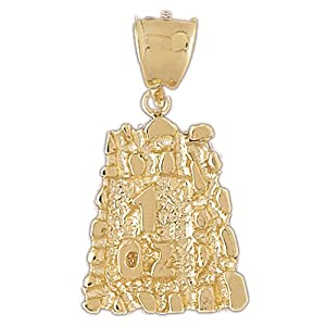 CleverEve's 14k Gold Charm Nuggets 18.3 - Gram(s)