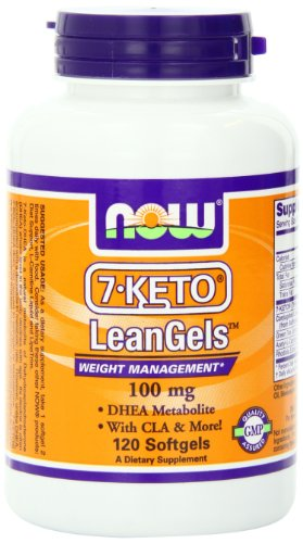 Now Foods 7-Keto 100Mg Leangels, 120-Count