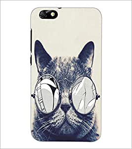 HUAWEI HONOR 4X DUDE CAT Designer Back Cover Case By PRINTSWAG