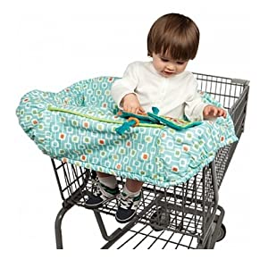 Boppy Protect Me Shopping Cart Cover- Deco Stripe