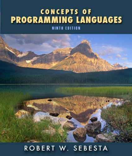 Concepts of Programming Languages (9th Edition)