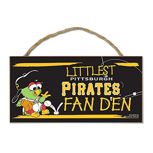 Pittsburgh Pirates Official MLB 5 inch x 10 inch Sign