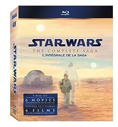 Star Wars: The Complete Saga (Episodes I-VI) Box Set [9-Disc Blu-ray]