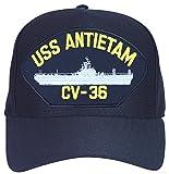 USS Antietam CV-36 Ship Ball Cap