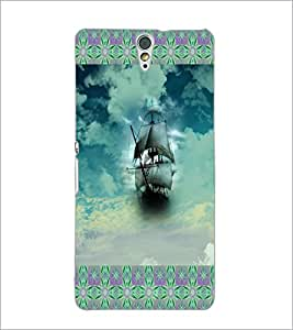PrintDhaba Ship D-6017 Back Case Cover for SONY XPERIA C5 ULTRA (Multi-Coloured)