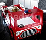 Single Fire Engine Kid 's Bett - 4