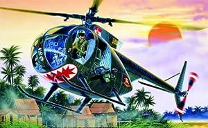OH-6A Cayuse 1/72 Model Kit Italeri by Italeri