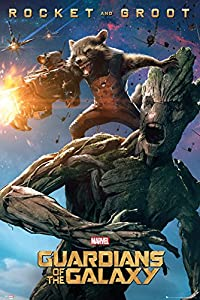 GB eye 61 x 91.5 cm Guardians of the Galaxy Groot and Rocket Maxi Poster