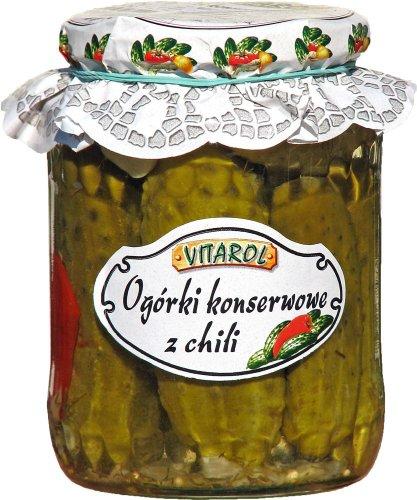 Gewürzgurke mit Chilieschoten von Vitarol 720g // Ogórki konserwowe z Chili Vitarol 720g