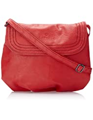 Caprese Demi Large Sling Bag (Brick Red)
