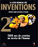 echange, troc Valérie-Anne Giscard d'Estaing - Le Livre mondial des inventions 2000