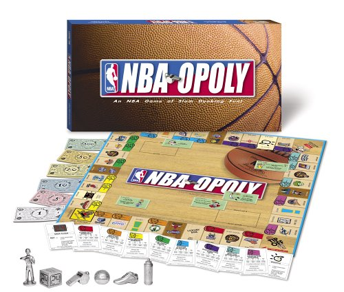 Basketball NBA-opoly Monopoly Board Game