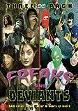 Freaks & Deviants (3-Pack - Quest for the Egg Salad/Townies/Splatter Rampage Wrestling)