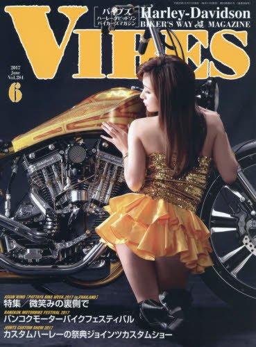VIBES 2017年6月号 大きい表紙画像