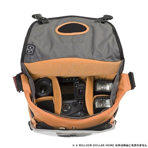 CRUMPLER ショルダーバッグ 6ミリオンダラー・ホーム 8.5L ダークレッド フレーム MD6003-R02P60