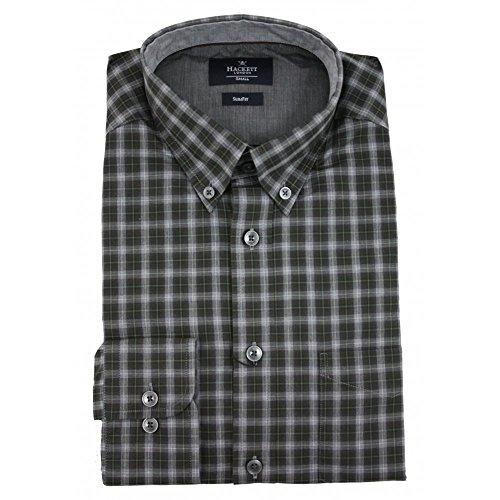 hackett-tonal-melange-check-shirt-x-large