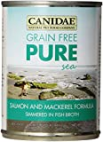 Canidae 12-Pack Canned Dog Food, Grain Free Salmon And Mackerel Formula, 13-Ounce Can