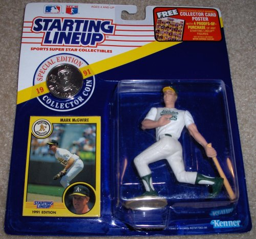 Mark McGwire 1991 MLB Starting Lineup