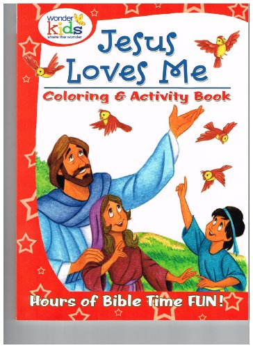 Jesus Loves Me Coloring & Activity Book - 1