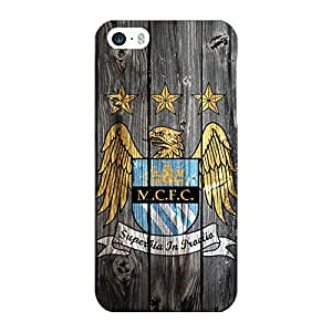 Jugaaduu Manchester City Back Cover Case For Apple iPhone 5S