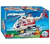 PLAYMOBIL 4222 - Socorristas / helicóptero de rescate