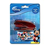 Disney Mickey Clubhouse Mini Stapler with Staples on Shaped Blister Card