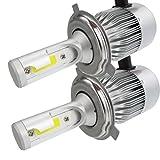 Car Fog light - Jushye 2 Pcs 100W H3 LED bulb 20 SMD Car Fog light 12V ~ 24V 360 Degrees White For Replacement signal, turn, brake, parking, tail, DRL, and fog lights, etc.