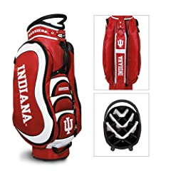 Brand New Indiana Hoosiers NCAA Cart Bag - 14 way Medalist by Things for You