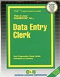 Data Entry Clerk(Passbooks) (Passbook for Career Opportunities)