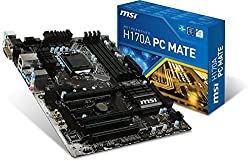 MSI H170A PC Mate Motherboard