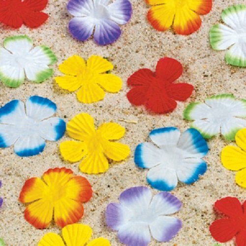 Lot of 500 Hawaiian Tropical Luau Flower Petals Wedding - 1