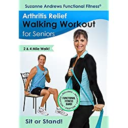 Suzanne Andrews: Arthritis Relief Walking Workout for Seniors with Free Fitness Band