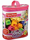 Fisher-Price TRIO Junior My First Blocks - Pastel Colors learn more